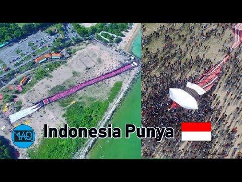 Layang-Layang Paling Besar Dan Panjang Yang Pernah Dibuat Oleh Manusia | No 1 Dari Indonesia
