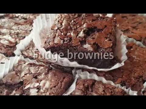 Fudgy Brownie (recipe sa aking bakery)
