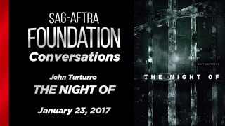 Conversations with John Turturro of THE NIGHT OF