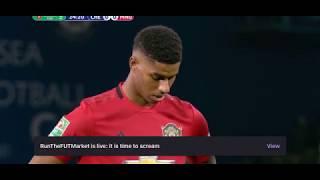 Marcus Rashford Penalty vs Chelsea