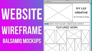 Download Mp3 How To Wireframe A Website || Balsamiq Mockups Tutorial