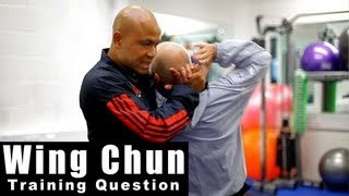 Wing Chun training - wing chun is good to mix different Martial Arts Q24