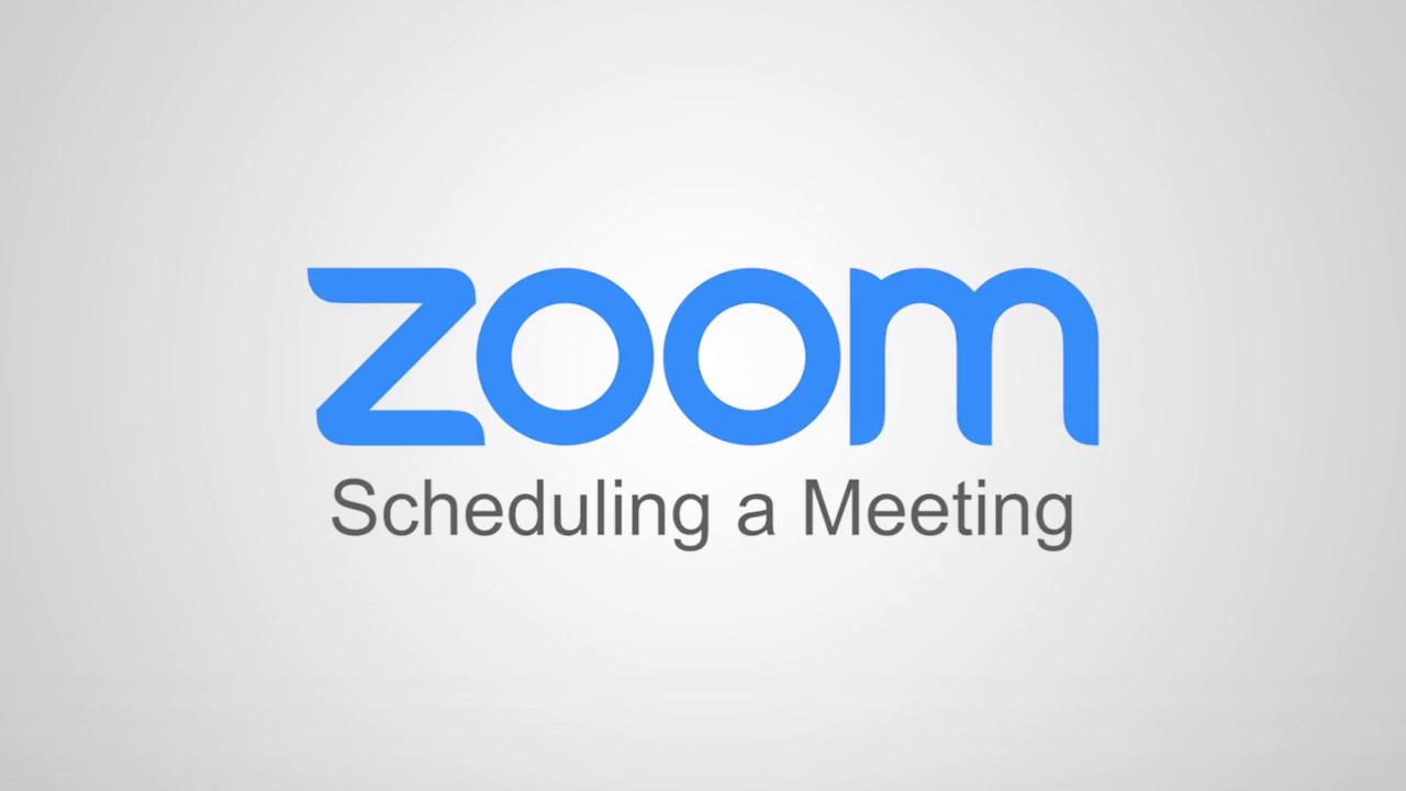 How Do I Schedule Meetings? – Zoom Help Center