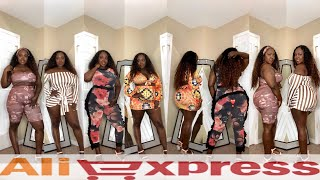 AliExpress has me summer ready for $16 and under 😜 plus size extra thick haul 2018