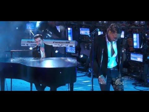 Wiz Khalifa & Charlie Puth Performs 'See You Again' On NYE 2016
