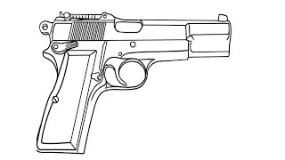 How to Draw a Pistol / Как нарисовать пистолет(Drawing Channel - https://www.youtube.com/channel/UCaZm6IvtL9zNeDwQi571asA/videos Канал для рисования ..., 2015-04-18T11:42:53.000Z)