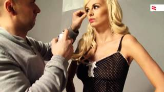 Бельё Obsessive коллекция 2012-2013 модель Rhian Sugden
