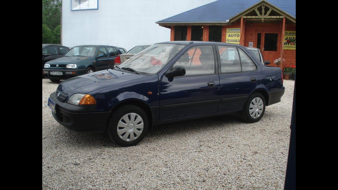 Suzuki Swift Sedan 1.3 elad hasznltaut 1999 - YouTube