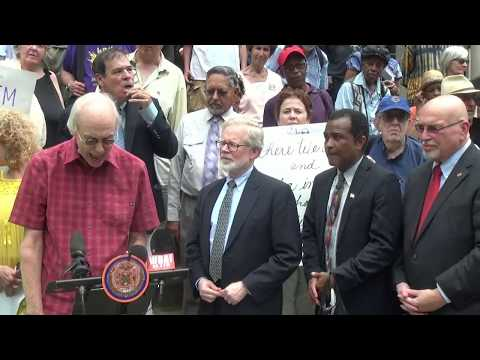 Press Conference: WBAI Pleads Mercy from Empire State Landlord
