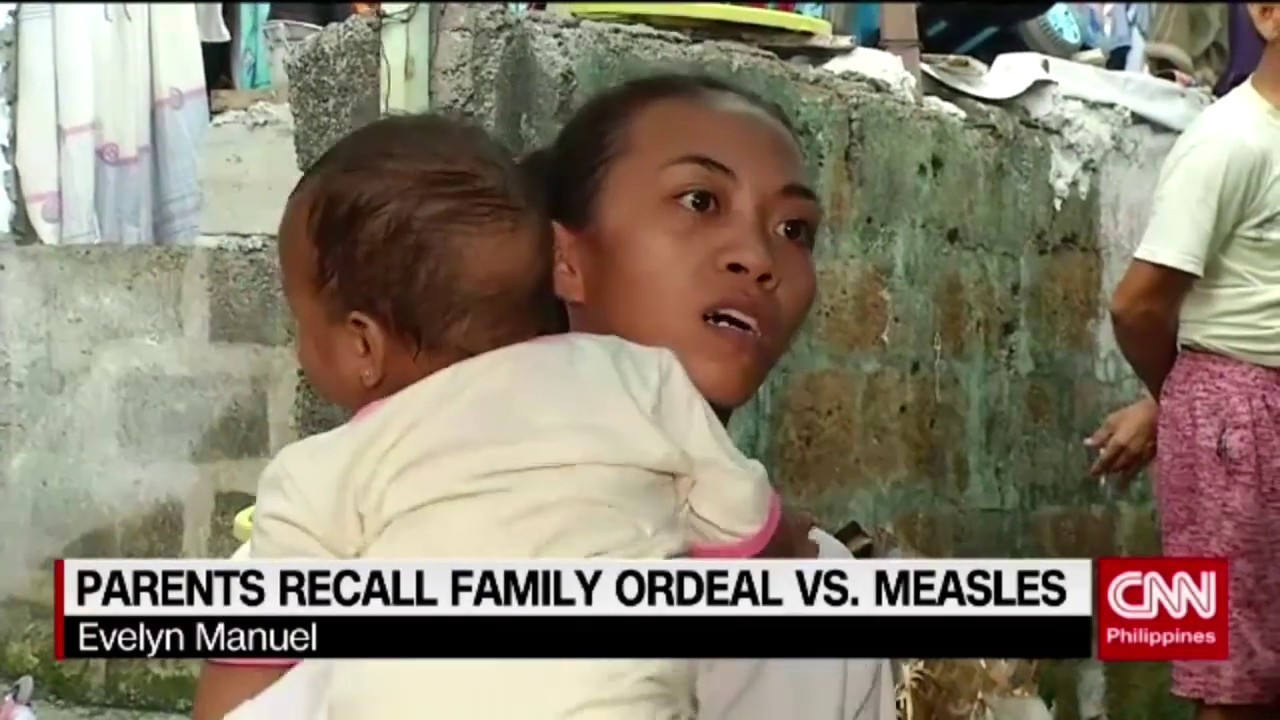 Parents recall family ordeal vs measles