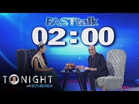 TWBA: Fast Talk with Karen Ibasco