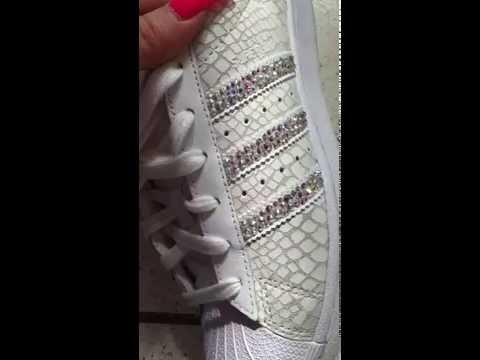 Adidas Superstar - Swarovski crystals