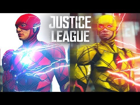JUSTICE LEAGUE 2017 DC REVERSE FLASH VS...