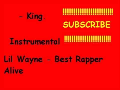 Instrumental  Lil Wayne  Best Rapper A