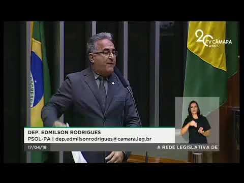 Dep. Edmilson Rodrigues (PSOL-PA) registra homenagem ao economista Paul Singer