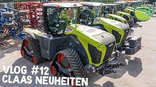 CLAAS XERION Traktor auf Kette | CLAAS Agritechnica Neuheiten | VLOG #12