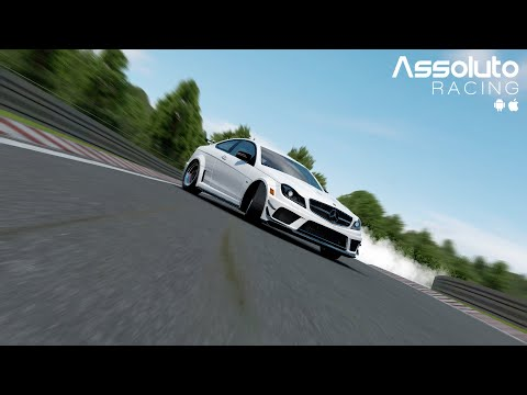 assoluto-nurburgring-mumu模拟器-mercedes-benz-amg-c63-black-series-(w204)-2011-(first-lap-replay