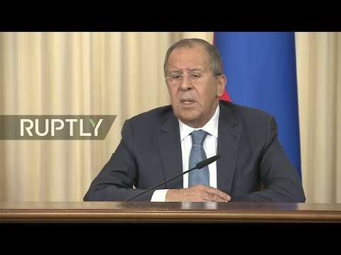 LIVE: Lavrov and Zambian FM Kalaba talk to the press in Moscow