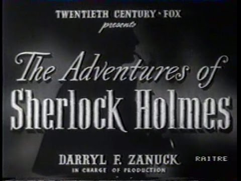 Sherlock Holmes Le avventure di Sherlock Holmes 1939 Basil Rathbone