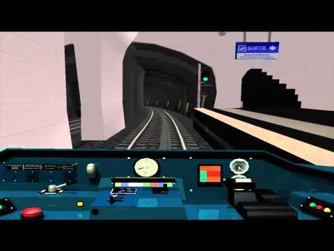 MSTS Metro Parisien - Ligne 7bis - Louis Blanc - Danube
