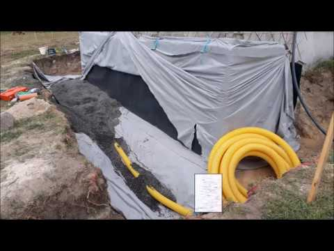Kelleraußenwand Abdichten Trocken Legen Selber Machen Altbausanierung Drainage Verlegen Kaltkeller