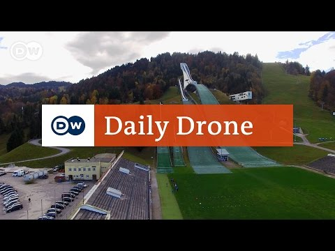 #DailyDrone: Olympia Skisprungschanze, Garmisch-Partenkirchen
