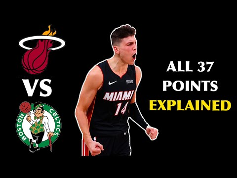 All 37 of Tyler Herro's Points from Game 4 Explained | hoopvision68