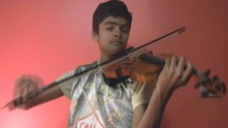 Bombe Helutaite (ಬೊಂಬೆ ಹೇಳುತೈತೆ) movie song - Suraj Nagaraj - (Violin cover)