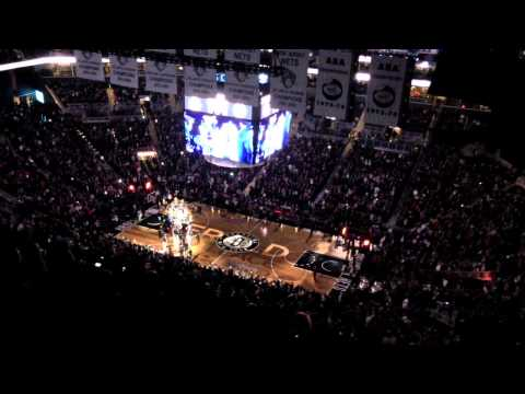 Brooklyn Nets Opener 11/3/2012