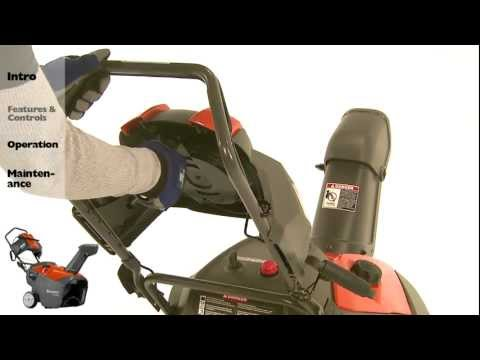 Features: Husqvarna Single-Stage Snow Throwers