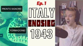 Can Italy Survive WW2? HOI4 Endsieg 1943 #1
