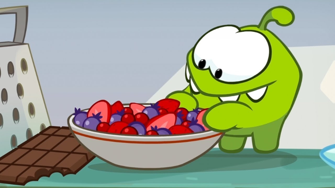 Om Nom Stories Sweet Recipe Cut The Rope Funny Cartoons For Kids Kids Videos Youtube