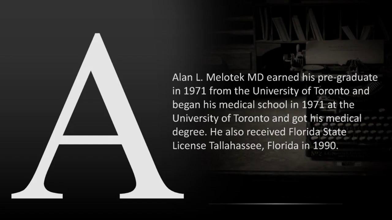 Dr. Alan L. Melotek – Family Medicine Specialist