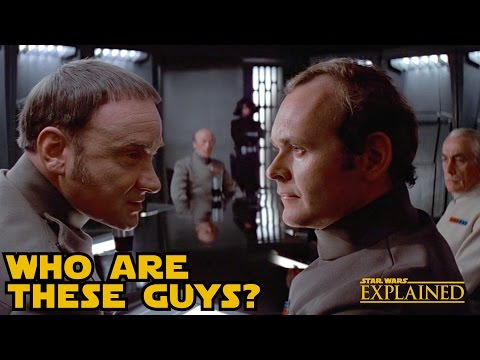 Who was in the Death Star Conference Room - Star Wars Explained