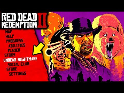 The Undead Nightmare DLC Update in Red Dead Redemption 2... (RDR2) thumbnail