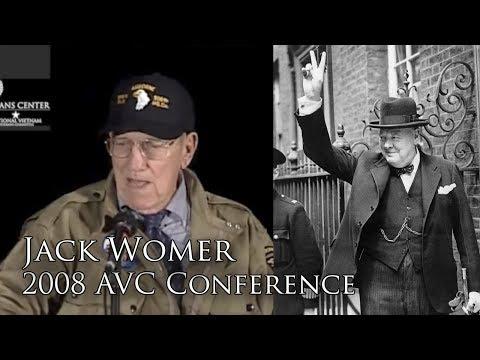 When Jack Womer Met Winston Churchill (2008 AVC Conference)