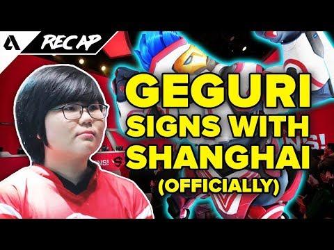 Geguri, Sky, Fearless & Ado Join Shanghai Dragons - Chinese Overwatch Fans Upset?! | Akshon Recap