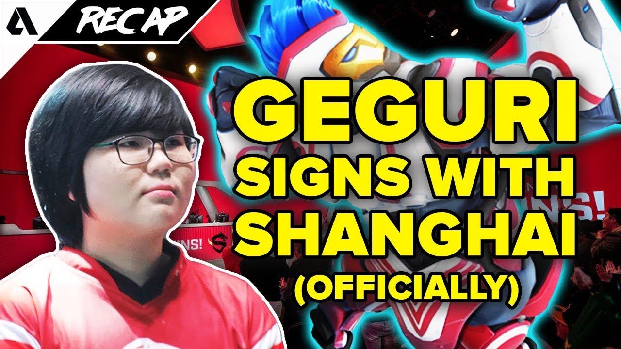 Geguri Sky Fearless Ado Join Shanghai Dragons Chinese Overwatch Fans Upset Akshon Recap Youtube