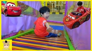 Indoor Playground Fun Slide for Kids and Family Car Cafe Drive | MariAndKids Toys