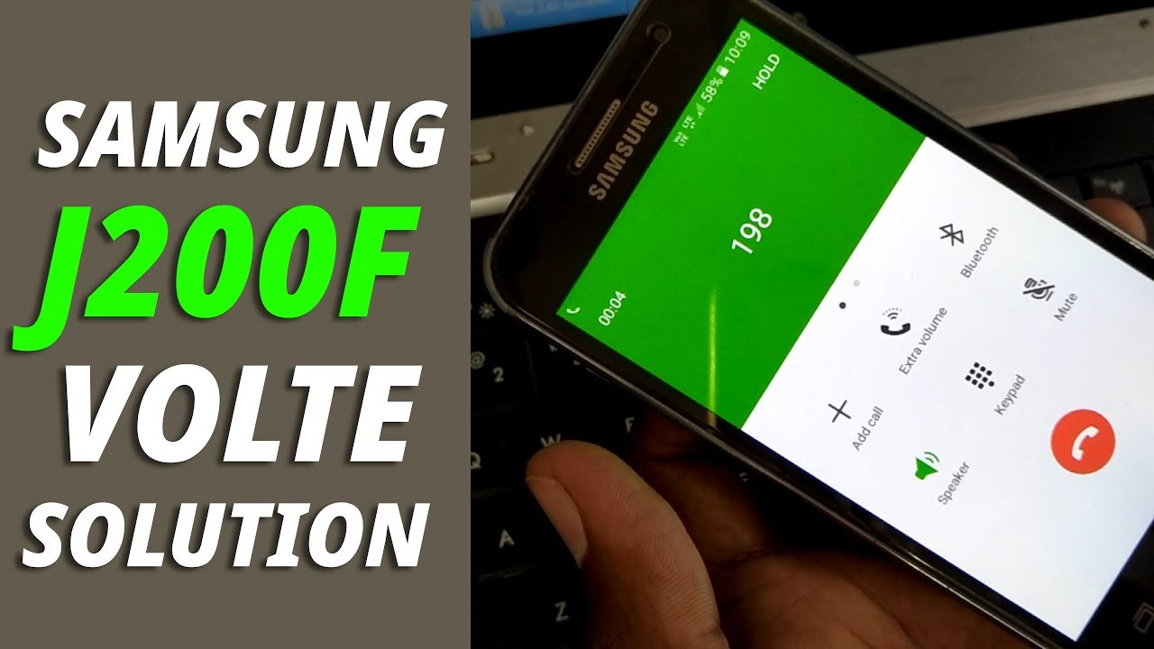 How to Convert LTE to VoLTE Samsung J2 SM-J200F