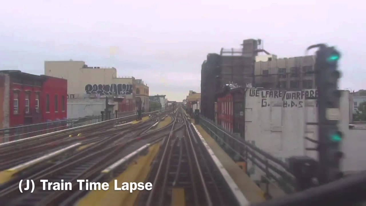 (J) Train Time Lapse