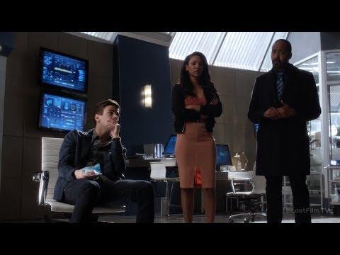 Команда Флэша узнаёт личность Савитара | Флэш (3 сезон 21 серия)