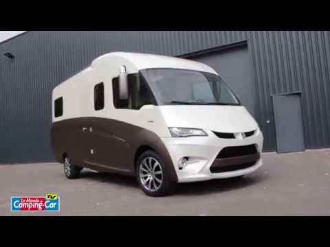 l 39 atalante de 3c cartier camping car sur mesure structure monobloc youtube. Black Bedroom Furniture Sets. Home Design Ideas