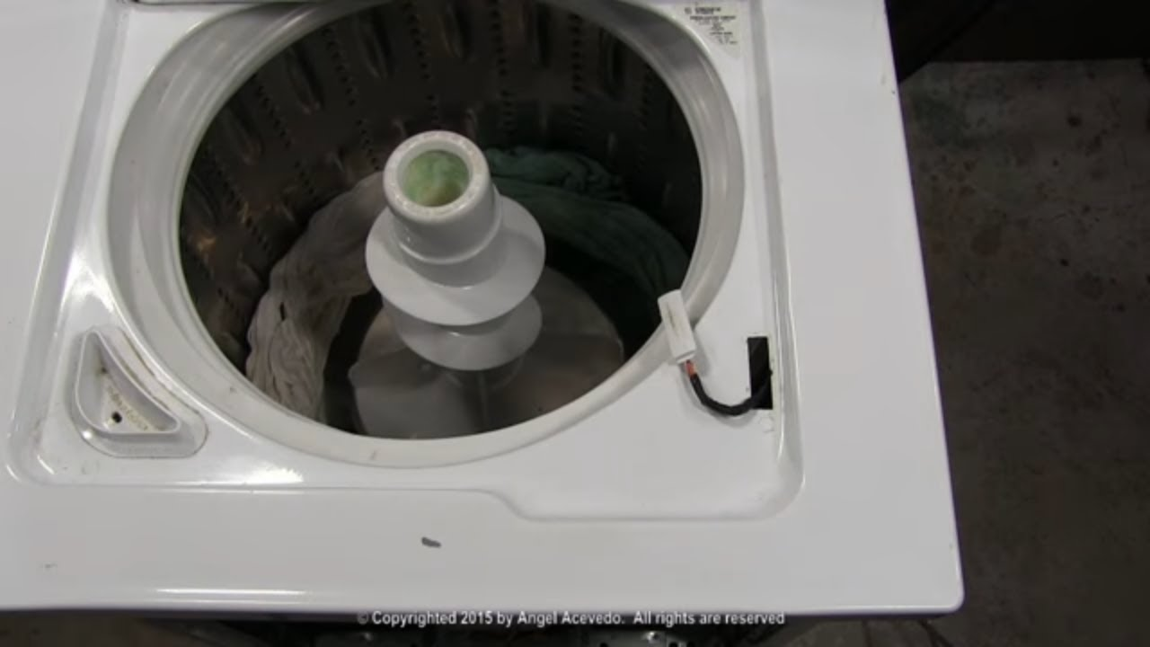 Dryer Replacement Parts >> Lid switch GE Hydrowave washer - Do it yourself and save ...