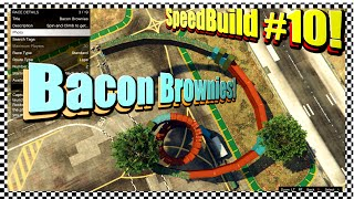Speedbuild #10! - Bacon Brownies! - Sub Shout Out Day!