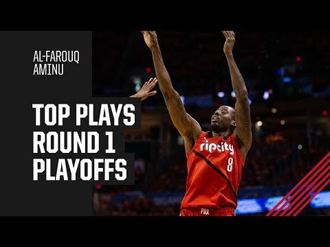 Al-Farouq Aminu's Top Plays Of Round 1 | 2019 NBA Playoffs
