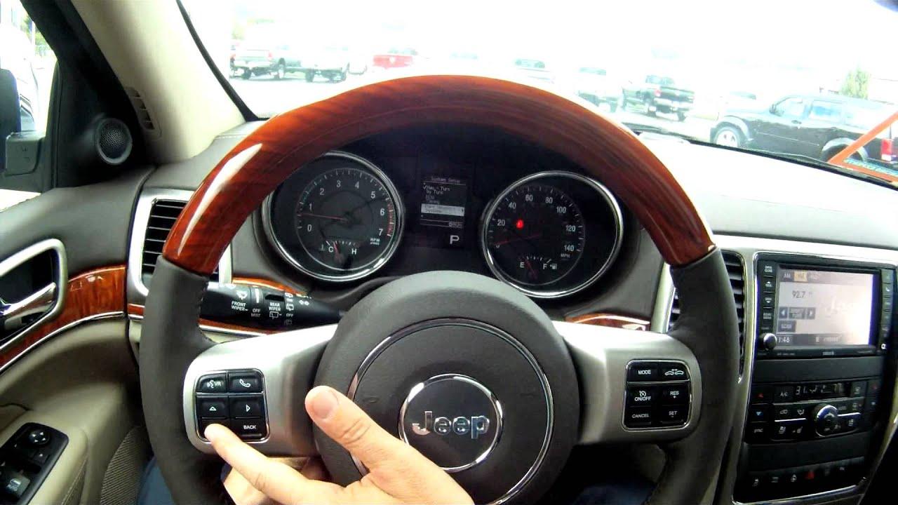 2012 Jeep Grand Cherokee Steering Wheel Controls ...