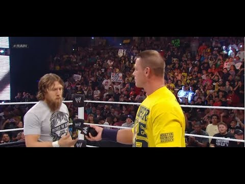 WWE John Cena Comments On Daniel Bryan Being Cleared To Return to WWE WRESTLING 2018