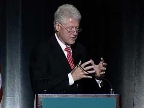 President Bill Clinton | Keynote Address at 2009 ACUPCC Climate Leadership Summit