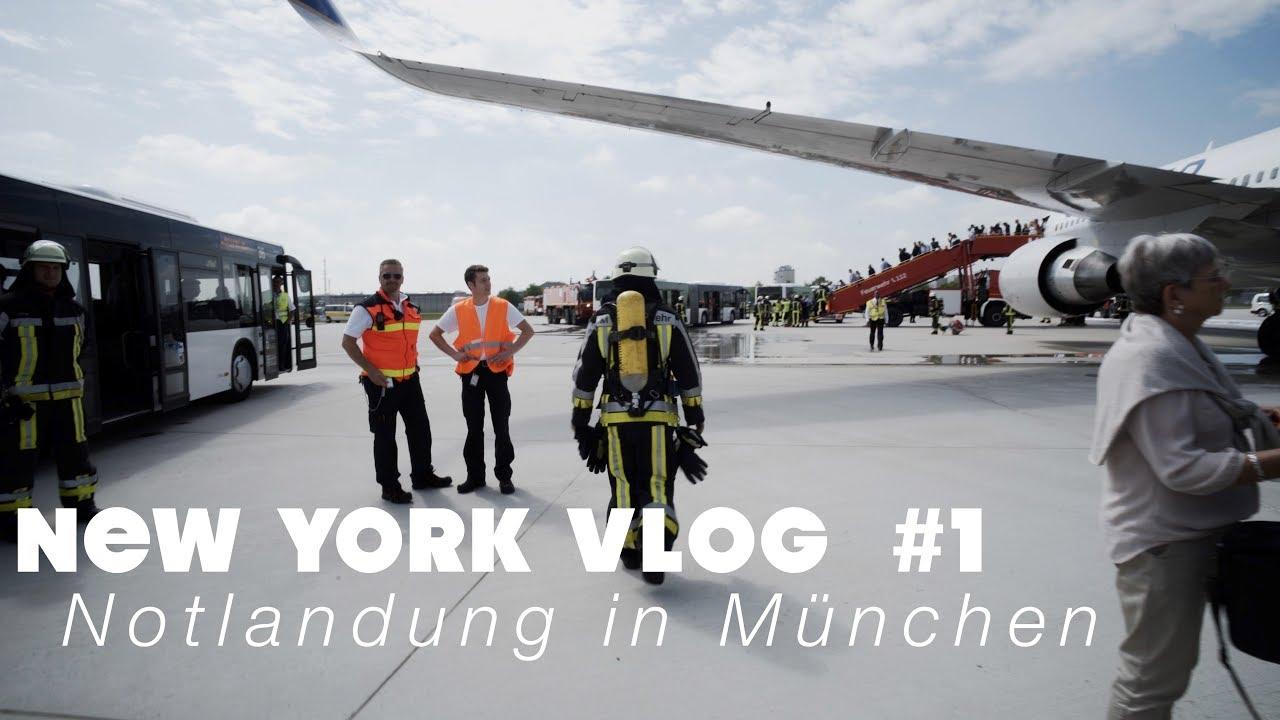 Notlandung in München | NEW YORK VLOG #1